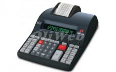 Olivetti LOGOS 904T asztali hőnyomtatós számológép