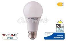 LED fényforrás E27 A60 körte SMD 6,5W HL melegfehér SAMSUNG