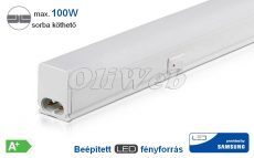 LED T5 bútorvilágító 60 cm 7W melegfehér SAMSUNG